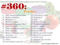 Peaches are in Juice Plus+!