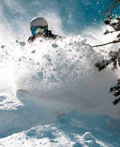 Think snow. via Paul Taylor  Powder Magazine