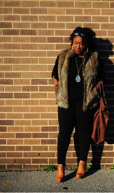 e2de134c866 Shapely Chic Sheri - Curvy Fashion and Style Blog  Rushing  All Black +  Michael · Plus Size ...