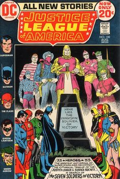 Cover for Justice League of America (DC, 1960 series) #100