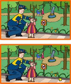 Encuentra las 7 diferencias :) | Juego para niños #Infantil