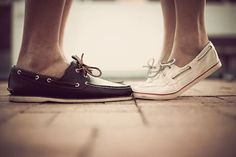 I remember seeing pictures of my parents with boat shoes... I wish I can pull them off... one day.. I will.