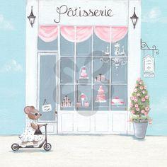 Little Patisserie, Girl Canvas Wall Art | Oopsy daisy