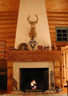 Norsk Wood Works -- Norsk Mantle                            I will never have anything like this in my house but I can always wish.: