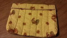 1 Large Microwave Cooking Bag in Rooster Chicken by Stitchinthread