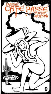 Cafe' Passe - Tucson, AZ ♥  Coffee and treats to die for, plus every other Sunday hear the beautiful sounds of songstress, Namoli Brennet.