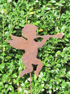 Gartenstecker Pflanzenstecker Rostdekoration Gärtner Landschaftsgärtner Hobby