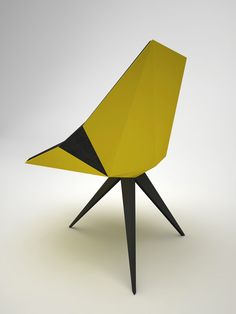 / ORIGAMI CHAIR & INTERIOR on Behance
