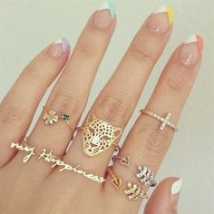 I want the *my happiness* ring