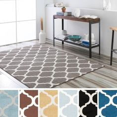 Bring luxury to your home with this modern designed area rug. Crafted from durable materials in shades of blue, grey, yellow, brown, slate, black, navy . This rug is sure to be the perfect addition to any decor.