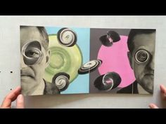 Reality Check - YouTube collage book made by Sabine Remy