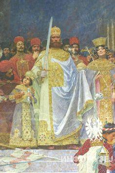 Цар Душан - Паја Јовановић  Emperor Dusan the Mighty - Paja Jovanović