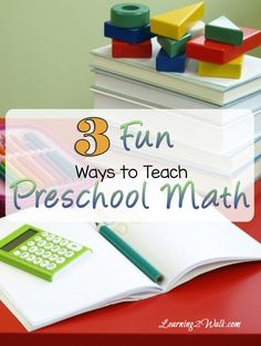 Looking for fun preschool activities? Here are 3 fun ways to teach preschool…