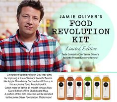 Limited edition: Jamie's Favorite Pressed Juicery flavors - The Chalkboard