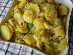 Der beste vegane Kartoffelsalat, den ich je gegessen habe, hmmm!