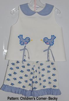 Children's Corner pattern Becky