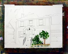 Step by Step watercolor by lauratrevey, via Flickr