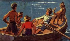 Enid Blyton and Arthur Ransome may portray cosier times for children, but more recent reads are redressing the balance