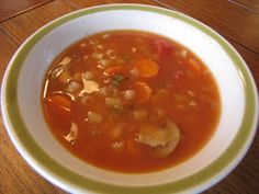 PREPARE TODAY: Prepare Today Homemade- Minestrone Soup in the Saratoga Jacks Cooker