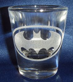 Batman Engraved Shot Glass