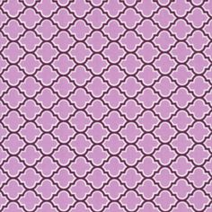 Joel Dewberry - Aviary 2 - Lodge Lattice in Lilac