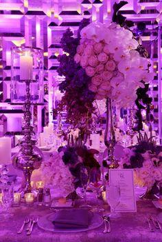 Glamorous Wedding Centerpiece  ~ Artist Group Photography