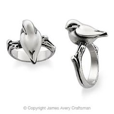 Bird on a Twig Ring from James Avery.  I need this! @James Avery Jewelry