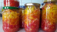 recept na lečo Salsa, Mason Jars, Good Food, Salsa Music, Restaurant Salsa, Mason Jar, Jars, Yummy Food