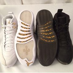 002898bd88a36 Drake s Air Jordan 12 Retro OVO Stingray edition Jordans Sneakers