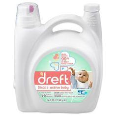 Laundry Detergent > Dreft Stage 2: Active Baby 150 oz. HEC Liquid Detergent $28.99 buybuyBaby