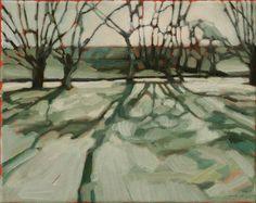 "Saatchi Online Artist Iet Langeveld; Painting, ""the first day (of 2013)"" #art"