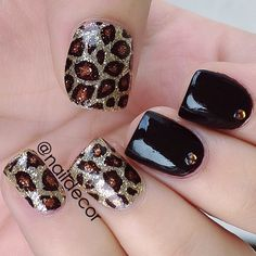 Cheetah Nails♥✤ ➳ naildecor