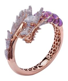 Dragon bracelet created by the Jewel Box