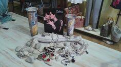 Bisuteria Ciclon. Metalls b bany de plata I resines I esmalts napolidafornells@gmail.com