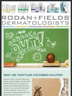 """Calling all teachers! School's out for summer - spend it building a business """"poolside"""" with Rodan + Fields!"""