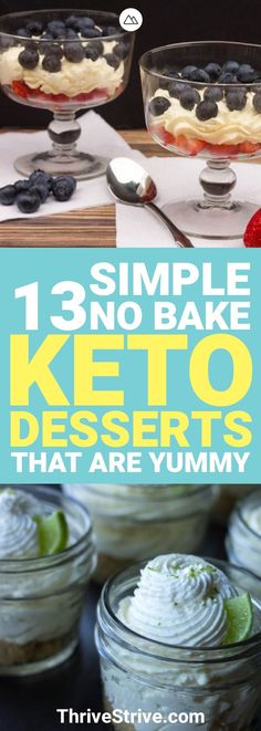 Looking for some delicious keto desserts? These 13 keto desserts will keep you in ketosis and losing weight.