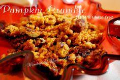 Pumpkin Crumble (THM S, Gluten Free)