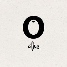 O Olive by George Lysikatos // Inspiration for the EMRLD14 Team // www.emrld14.com/:  #Branding #Logo