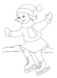 Winter Activities For Kids, Crafts For Kids, Sports Drawings, Kindergarten Writing, Drawing For Kids, Adult Coloring Pages, String Art, Winter Season, Felt Crafts
