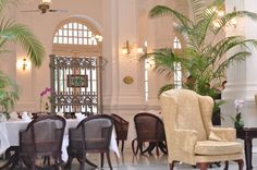 High Tea at Raffles Hotel -Singapore