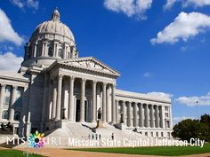 Trip Idea Details-spend a day in Jefferson city Kid Friendly Vacations, Jefferson City, Land Of The Free, Capitol Building, Beautiful Architecture, Capital City, Great Places, Missouri, Taj Mahal