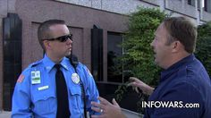 Alex Jones Confronts The Feds on Their Turf