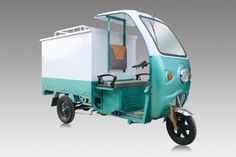 Electric Tuktuk-DELIVERY-4 Third Wheel, Tricycle, Outdoor Gear, Electric, Delivery, Vehicles, Cars, Autos, Car