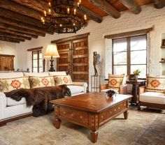 Southwest-Style Pueblo Desert Adobe Home | Home Design Ideas ...