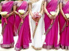 Bridal & Bridesmaids Saris