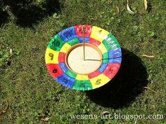 DIY Sonnenuhr / DIY Sundial