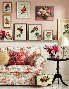 Beautiful rose room