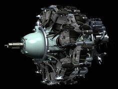 Sakae engine 3D engine design power star motor Plane Engine, Aircraft Engine, Ww2 Aircraft, Radial Engine, Plane Design, Power Star, Military Jets, Wwii, Engineering
