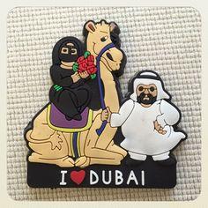 アラブ首長国連邦ドバイのマグネット。こちらはムスリム(イスラム教徒)のマグネットですね。欲しかったマグネットの1つです。