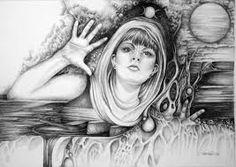 psychic drawings - Google Search Spiritual Drawings, Spirituality, Google Search, Art, Art Background, Kunst, Spiritual, Performing Arts, Art Education Resources